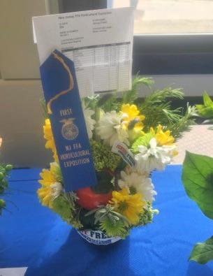 CRHS FFA members showcase talents at NJ FFA Horticultural Exposition