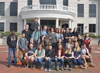 CRHS STEM students participate in TEAMS competition at Widener University