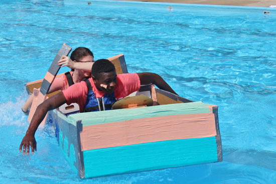 STEM Cardboard Boat Regatta Ireland Robert