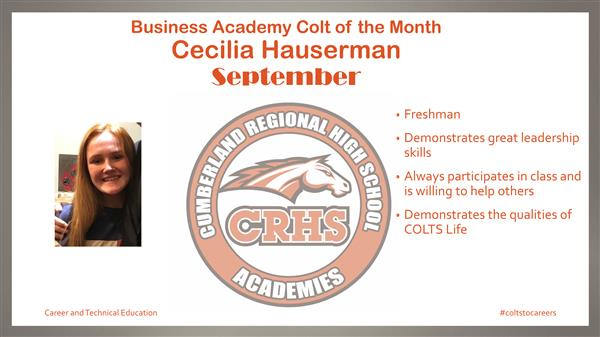 Business Academy - Cecilia Hauserman